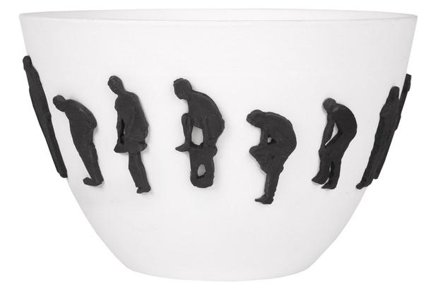 Фарфоровая вазочка Olympic Gold