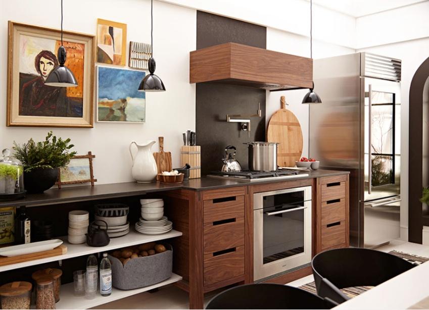 Чудесная кухонная зона