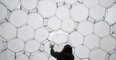 «Воздушное» здание из пузырей