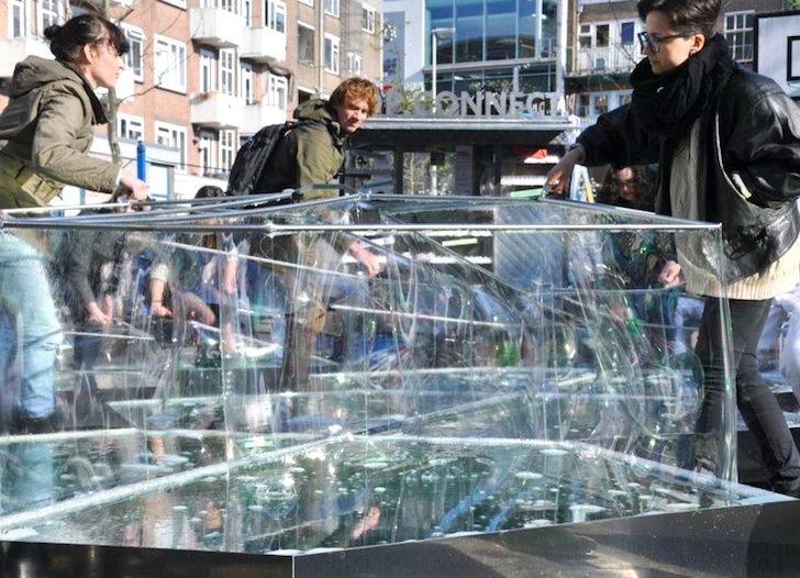 Здание из пузырей - сооружение Real Bubble Building