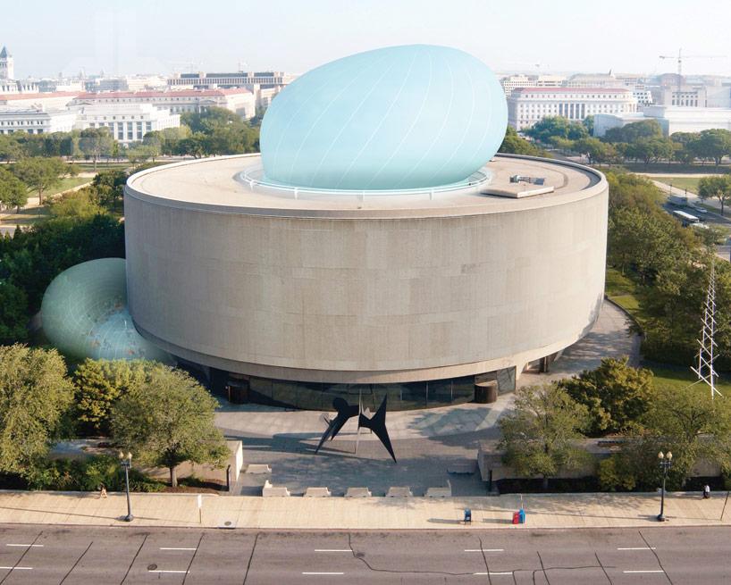 Здание из пузырей: проект по расширению пространства