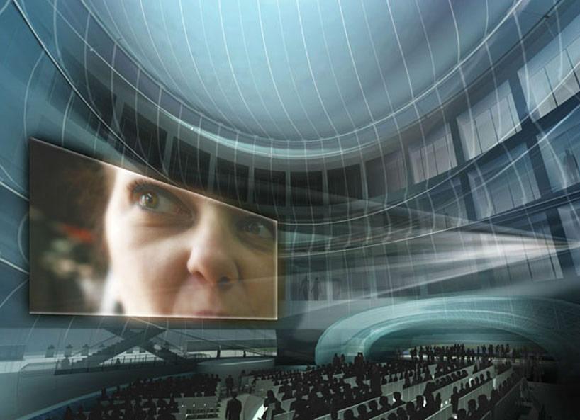 Здание из пузырей от Diller Scofidio + Renfro