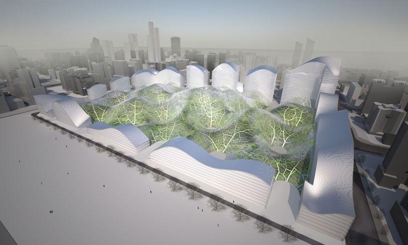 Здание из пузырей от Orproject