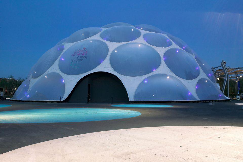 Здание из пузырей от Энрика Руиз-Гели