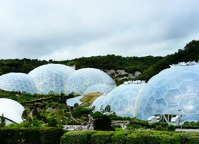 Здание из пузырей из ETFE