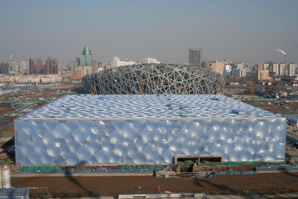 Здание из пузырей в Пекине