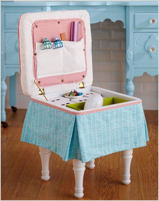 Детский стульчик с нишей для хранения