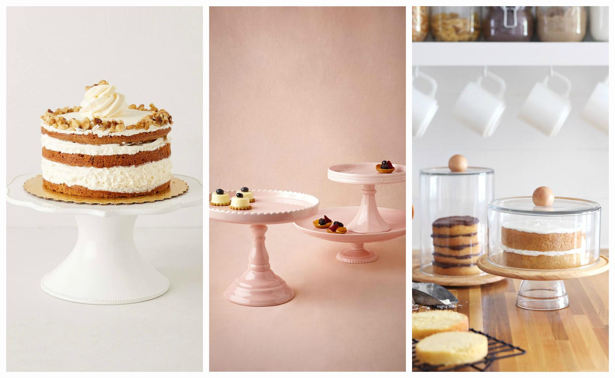 Всевозможные разновидности подставок для тортов и сладостей