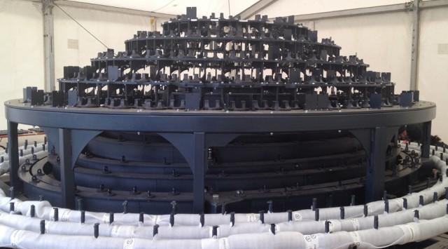 Чудная световая инсталяция на Олимпийских играх от Томаса Хезервика