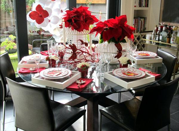 Фото украшение стола в домашних условиях