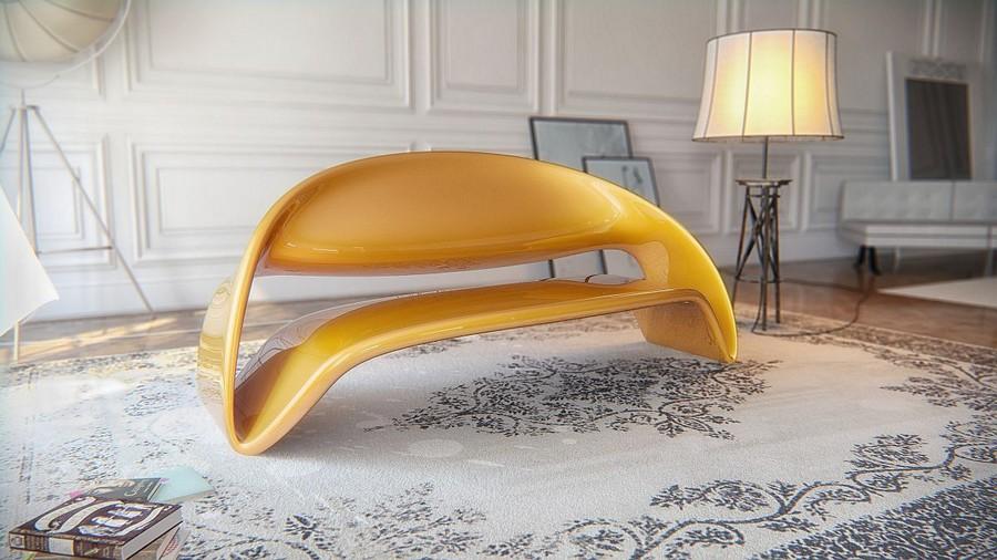 Liubja Lounge Bar Design Mit Skulpturellem Charakter Von Nuvist Studio