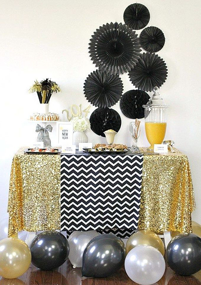 new years eve party decor ideas - 700×992