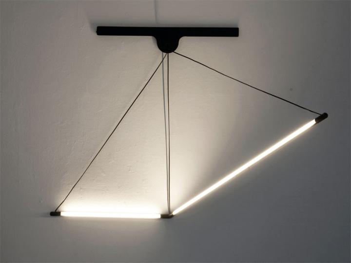 Модульный настенный светильник от Geoffroy Gillant