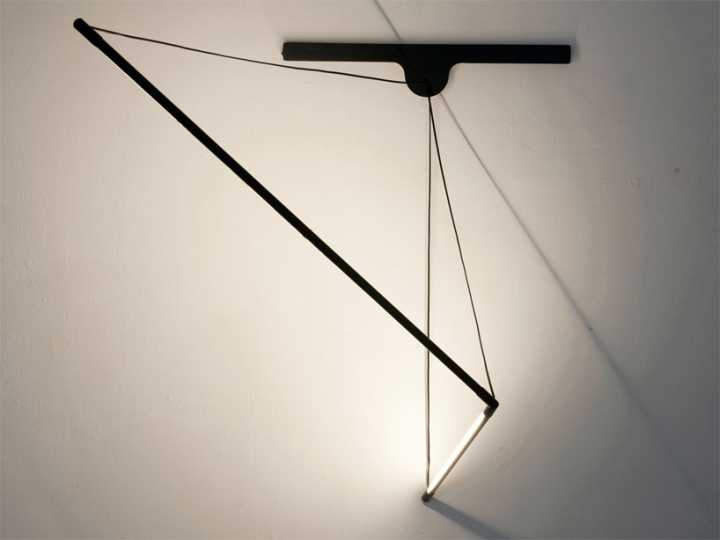 Красивый модульный настенный светильник от Geoffroy Gillant