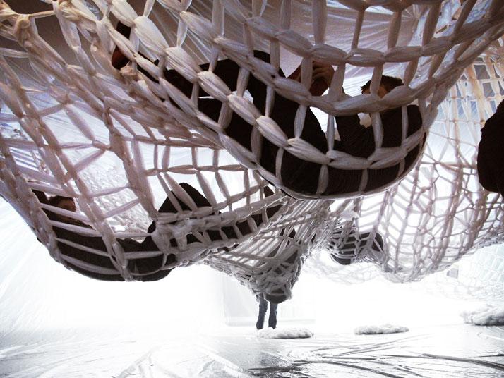 Инсталляция сетки