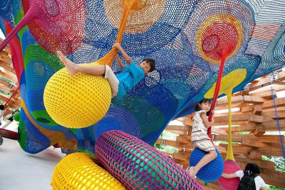 Детская инсталляция