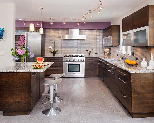 Красивое оформление кухни