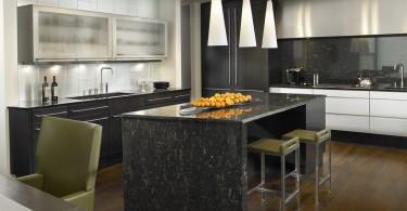 Осветительные приборы в интерьере кухни