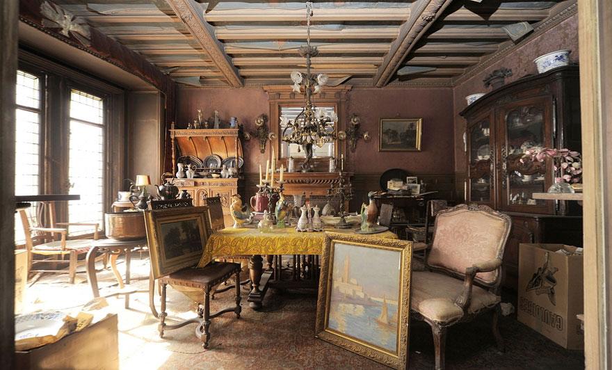 Квартира, сохранившая атмосферу жизни парижской богемы первой половины 20 века