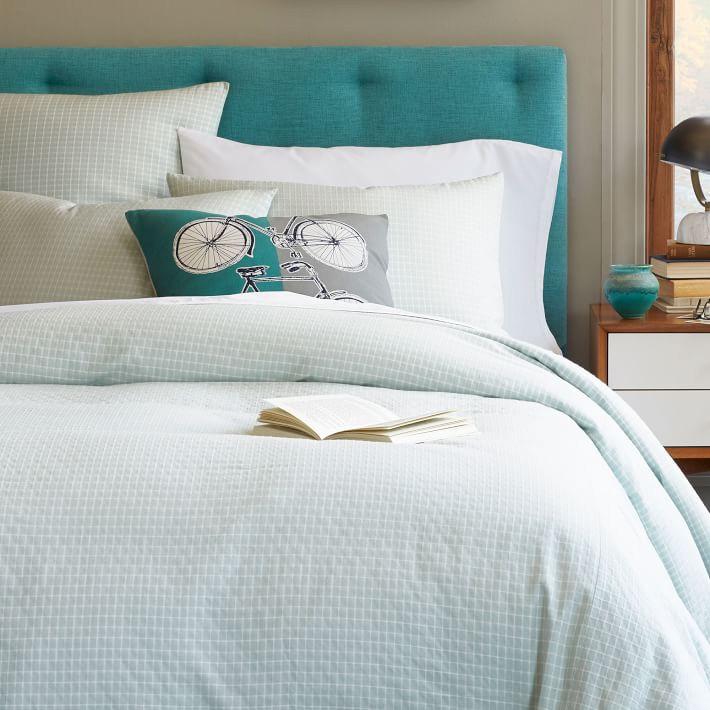 Прекрасное сочетания цветовых гам кровати