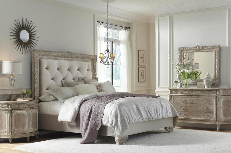Французский стиль оформление изысканной спальни