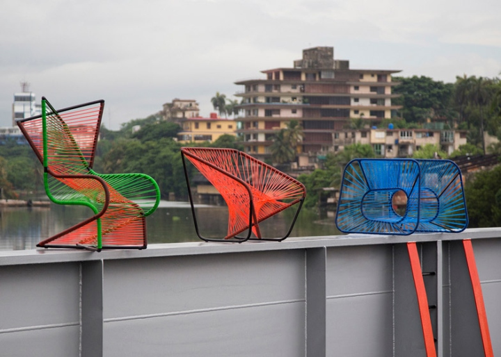 Фигурные кресла Vibra от Райко Валладареса и Хосе А Вильи