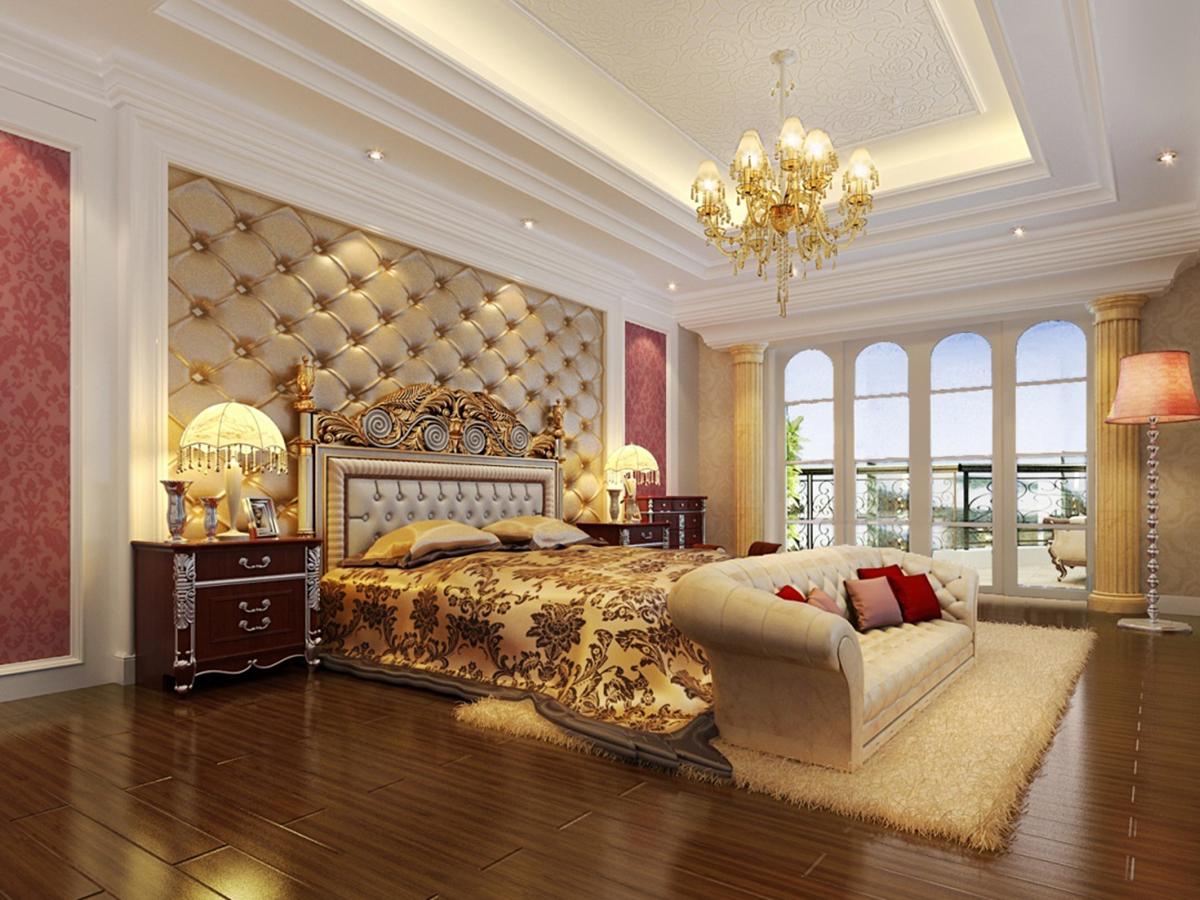 Роскошный двухъярусный потолок