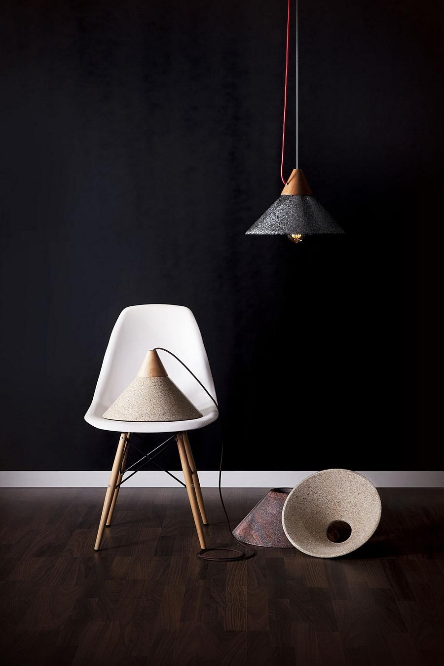 Индустриальный стиль подвесных светильников