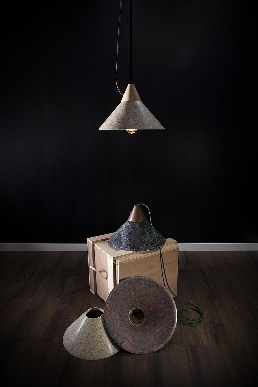 Флаконы дизайнерского подвесного светильника