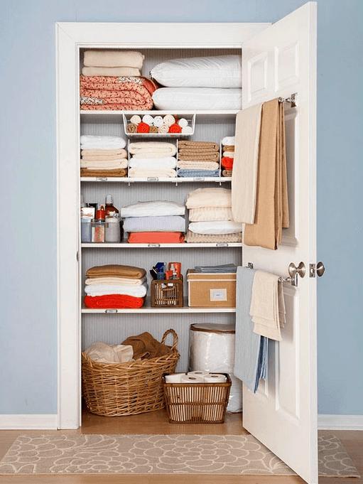 Кладовое помещение для одежды