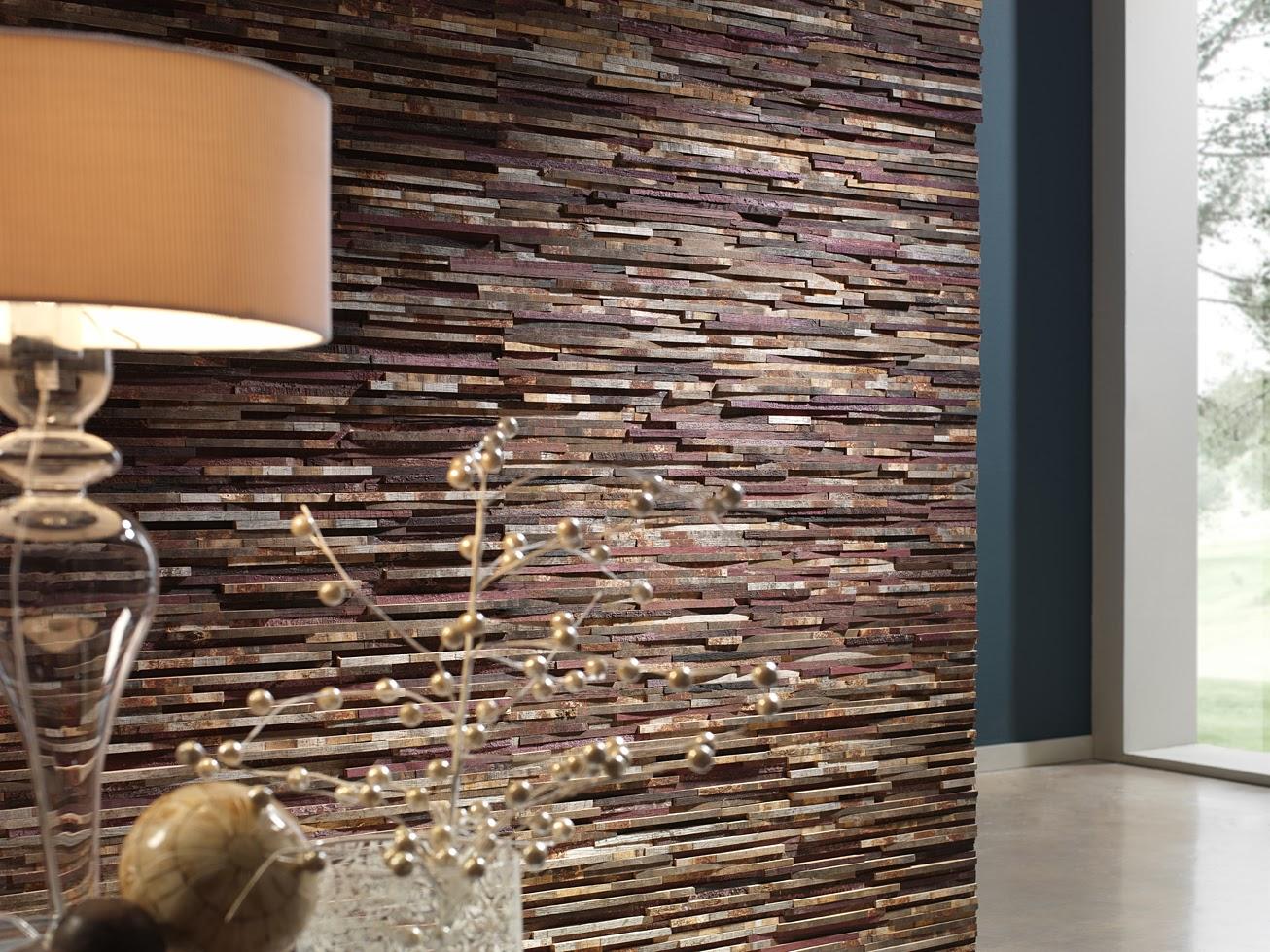 Чудесное оформление стен интерьера декоративным камнем