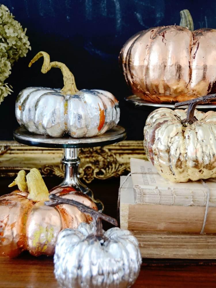 Осенний декор в интерьере из тыквы