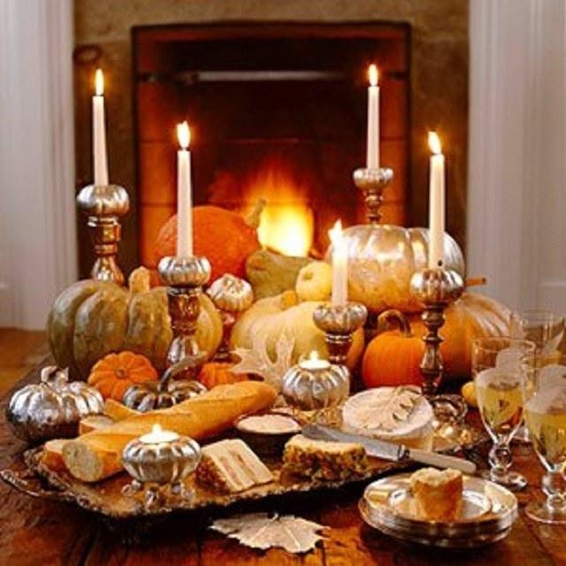 Шикарный осенний декор в интерьере из тыквы