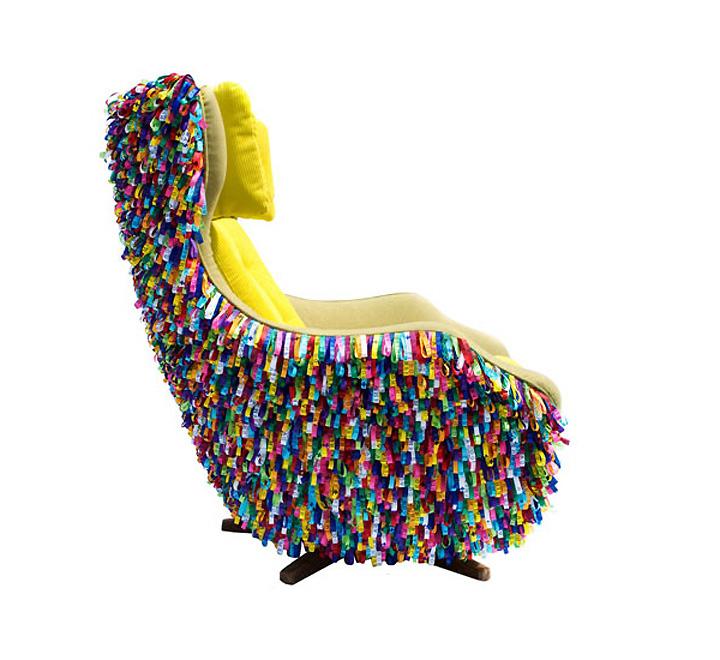 Высокая спинка кресла Bahia от 20age