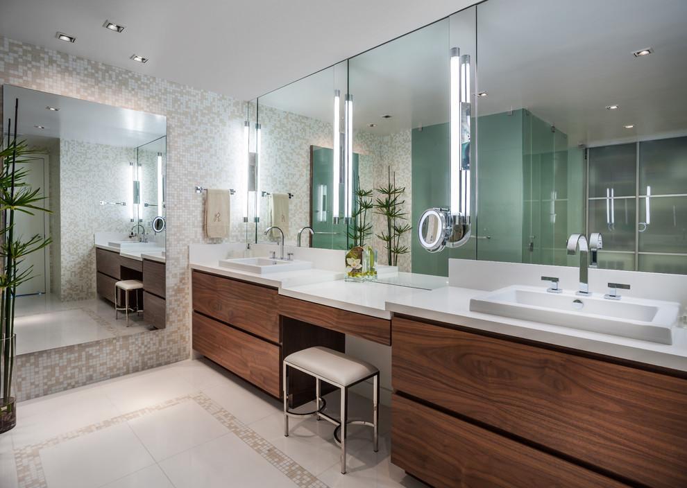 Шикарная подсветка зеркала в ванной комнате