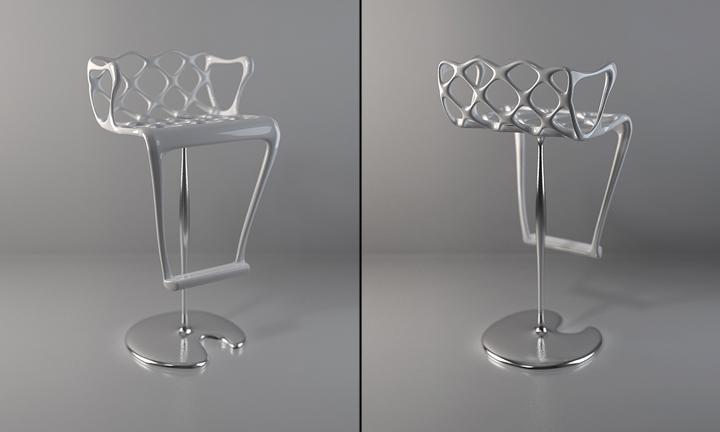 Чудесный барный стул от Лидия Коломиджетс