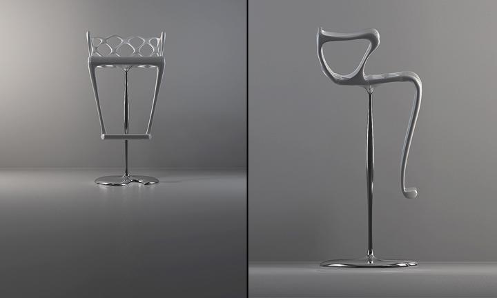 Уникальный барный стул от Лидия Коломиджетс