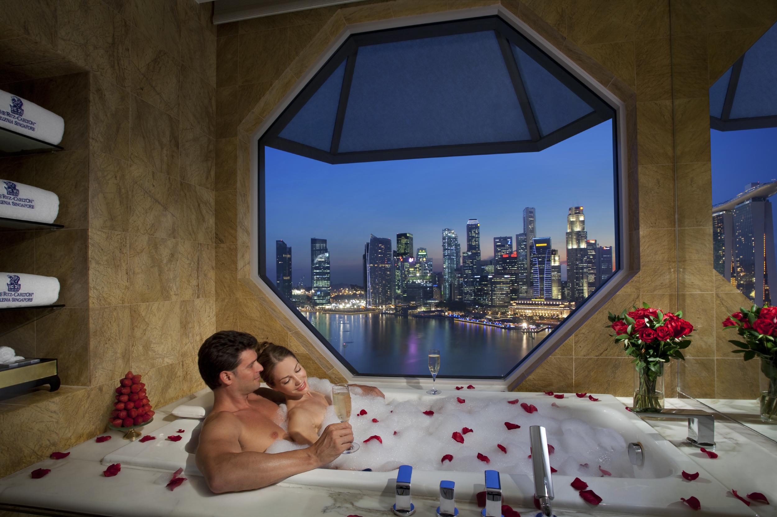 Романтика в банi 20 фотография