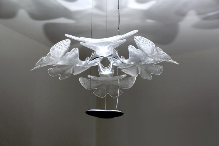 Дизайнерский светильник без абажура
