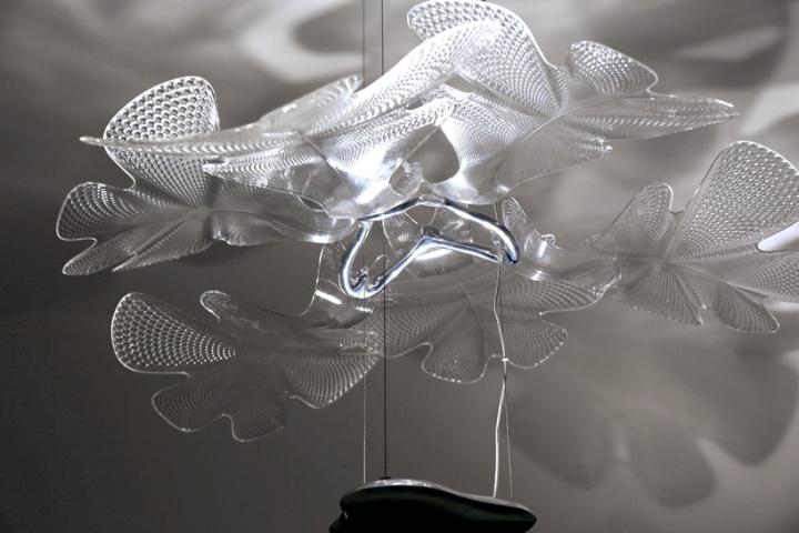 Стеклянная основа дизайнерского светильника