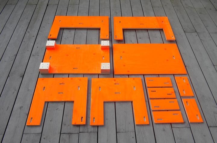 Модульные запчасти дизайнерского стола