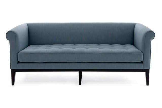 Темно-серый диван