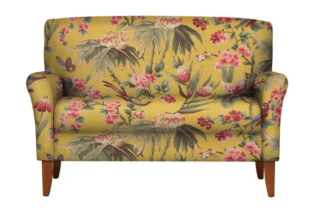 Расписной диван