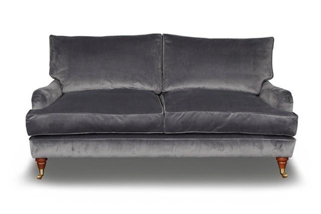 Бархатная обивка дивана