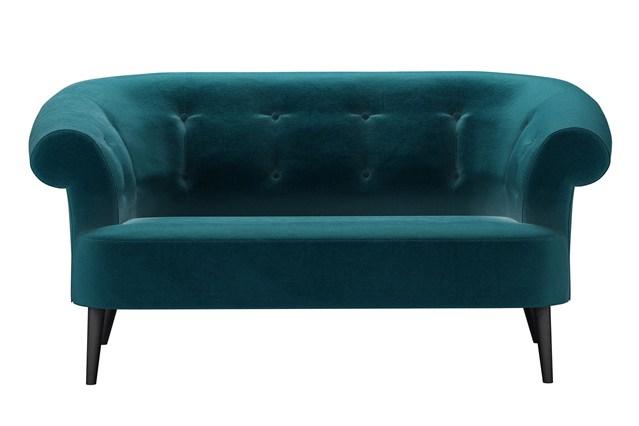 Бирюзовый цвет дивана