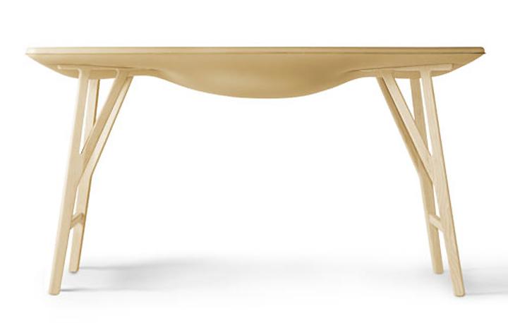 Деревянный стол Bloated от Damien Gernay