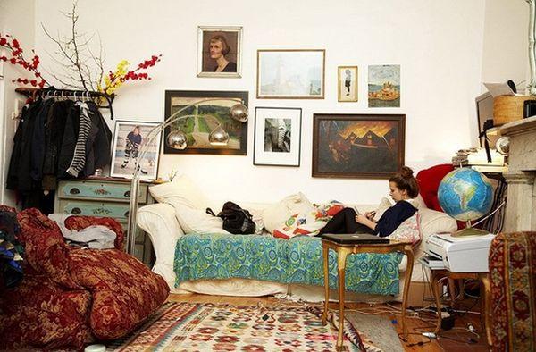Декор спальни в богемном стиле