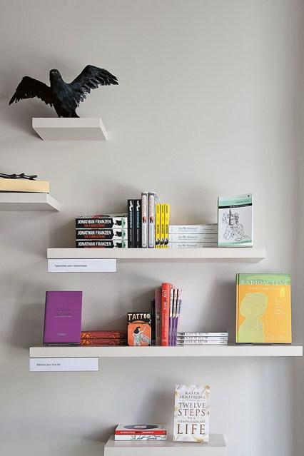 Настенные полки для книг и декора