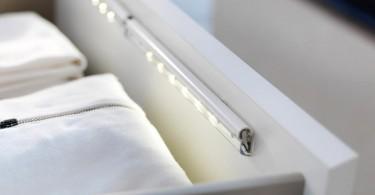 Светодиодные лампы для освещения ящиков и шкафов