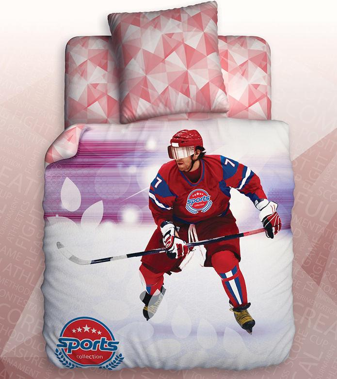 Постельное белье с хоккеистом